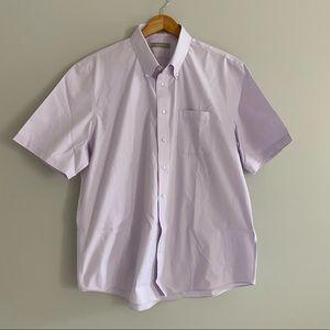 🔷2/$30 NWOT- Nordstrom short sleeved button shirt
